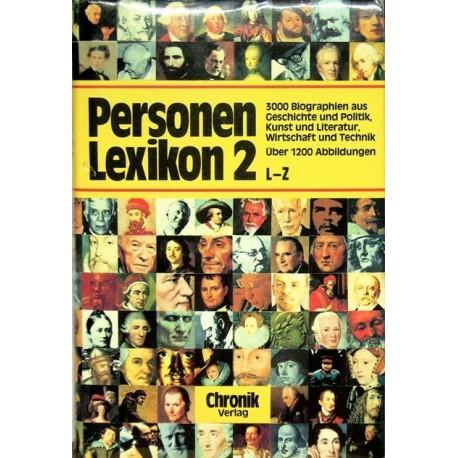 Das große Personenlexikon zur Weltgeschichte in Farbe. Band 2, L-Z. Von Bodo Harenberg (1988).