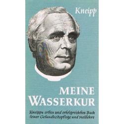 Meine Wasserkur. Von Sebastian Kneipp (1954).