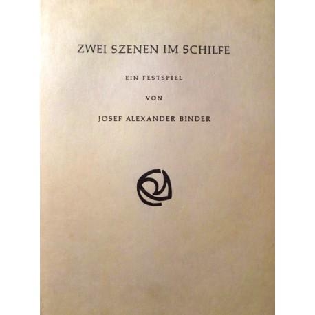 Zwei Szenen im Schilfe. Von Josef Alexander Binder (1972).