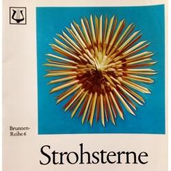 Strohsterne. Von Marta Högemann (1974).