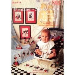 Frottier Stickereien für Kinder, Freizeit, Küche & Bad. Von Michael Lindner (1995).