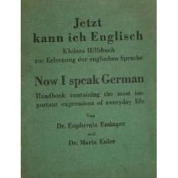 Jetzt kann ich Englisch. Von Euphemia Eminger (1945).