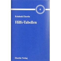Hilfs-Tabellen zur Berechnung der Gestirnstände. Von Reinhold Ebertin (1986).