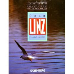 Über Linz. Stadtansichten. Von Alfred Scherrer (1988).