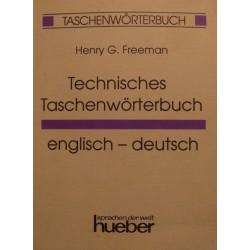 Technisches Taschenwörterbuch. Von Henry G. Freeman (1995).