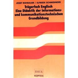 Trägerfach Englisch. Von Josef Rohrauer (1995).