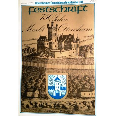 Festschrift 750 Jahre Markt Ottensheim. Von: Gemeinde Ottensheim (1978).