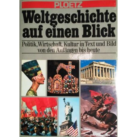 Weltgeschichte auf einen Blick. Von Hans Dollinger (1988).