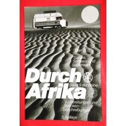 Durch Afrika. Von Klaus Därr (1980).