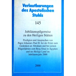Jubiläumspilgerreise zu den Heiligen Stätten. Von: Sekretariat der Deutschen Bischofskonferenz (2000).