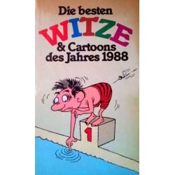 Die besten Witze und Cartoons des Jahres 1988. Von Ludwig Spangler (1988).
