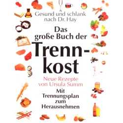Das große Buch der Trennkost. Von Ursula Summ (1995).