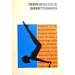 Terminologie Gerätturnen. Von: Sportverlag Berlin (1972).