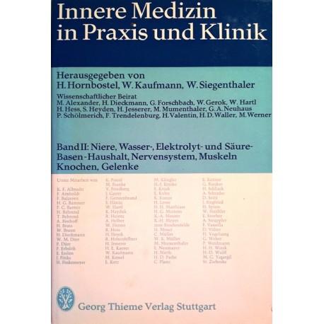 Innere Medizin in Praxis und Klinik. Band 2. Von H. Hornbostel (1973).