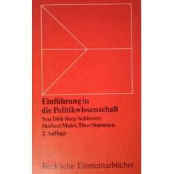 Einführung in die Politikwissenschaft. Von Dirk Berg-Schlosser (1977).