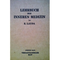 Lehrbuch der inneren Medizin. Band 2. Von Ernst Lauda (1949).
