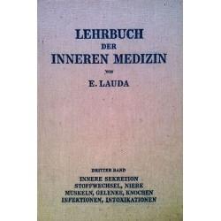 Lehrbuch der inneren Medizin. Band 3. Von Ernst Lauda (1951).