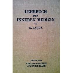 Lehrbuch der inneren Medizin. Band 1. Von Ernst Lauda (1949).
