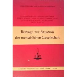 Beiträge zur Situation der menschlichen Gesellschaft. Von Friedrich Salzmann (1956).