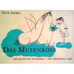 Das Musenross. Ein Buch von Dichtern. Von Paul Flora (1966).