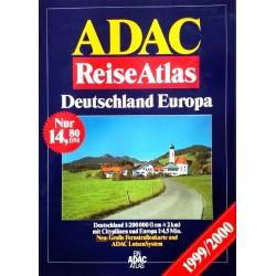 ADAC ReiseAtlas 1999/2000.
