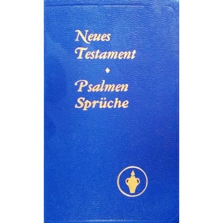 Neues Testament. Psalmen, Sprüche. Von: Internationaler Gideon Bund (1988).
