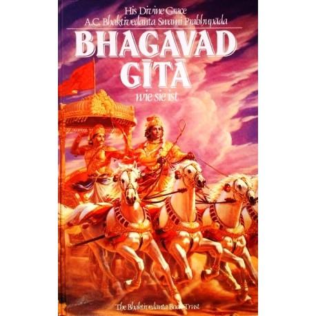 Bhagavad Gita wie sie ist. Von Bhaktivedanta Swami Prabhupada (1987).