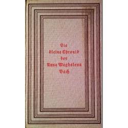 Die kleine Chronik der Anna Magdalena Bach. Von Johann Sebastian Bach (1939).