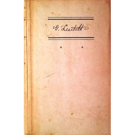 Das zweite Gesicht. Der Brechschmied. Das Buch vom Walde. Von Gustav Leutelt (1943).