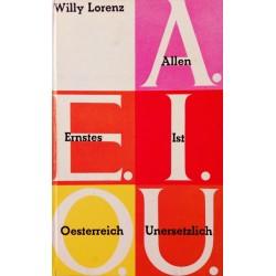 AEIOU. Von Willy Lorenz (1961).