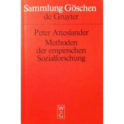 Methoden der empirischen Sozialforschung. Von Peter Atteslander (1995).