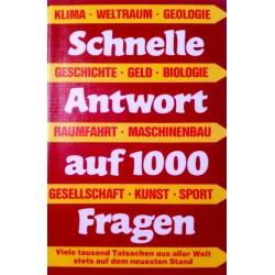 Schnelle Antwort auf 1000 Fragen. Von Otto A. Fischer (1980).