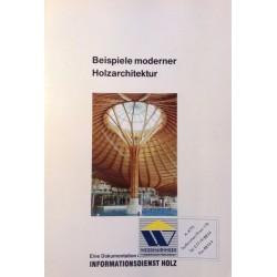 Beispiele moderner Holzarchitektur. Von: Holzwirtschaftlicher Verlag (1990).