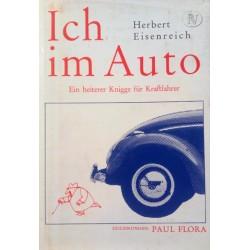 Ich im Auto. Von Herbert Eisenreich (1966).