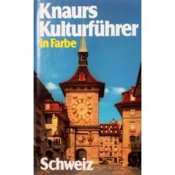 Knaurs Kulturführer in Farbe Schweiz. Von Niklaus Flüeler (1982).