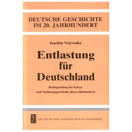 Entlastung für Deutschland. Von Joachim Nolywaika (1996).