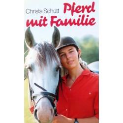 Pferd mit Familie. Von Christa Schütt (1987).