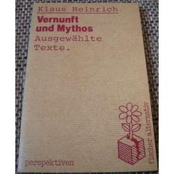Vernunft und Mythos. Von Klaus Heinrich (1983).