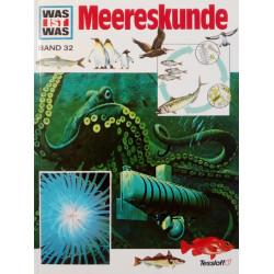 Meereskunde. Was ist was Band 32. Von Robert Scharff (1984).