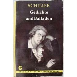 Gedichte und Balladen. Von Friedrich Schiller.