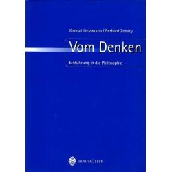 Vom Denken. Von Konrad Liessmann (2004).