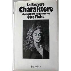 Die Charaktere. Von Jean de la Bruyere (1979).