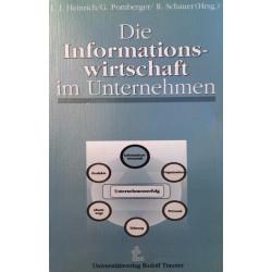 Die Informationswirtschaft im Unternehmen. Von Lutz J. Heinrich (1991).