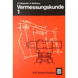 Vermessungskunde 1. Von Hans Volquardts (1980).