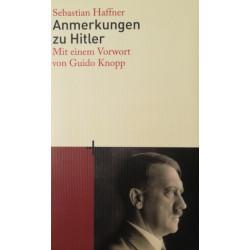 Anmerkungen zu Hitler. Von Sebastian Haffner (2008).