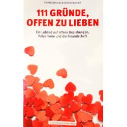 111 Gründe, offen zu lieben. Von Cornelia Jönsson (2018).