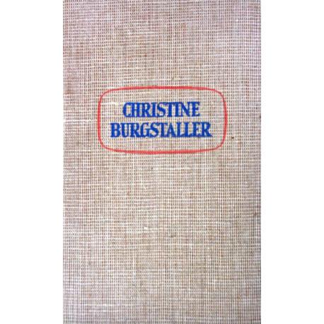 Christine Burgstaller. Von Ines Widmann (1938).