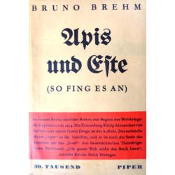 Apis und Este. Von Bruno Brehm (1931).