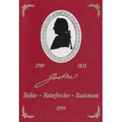Goethe. Dichter, Naturforscher, Staatsmann. Von Otto Scrinzi (1999).