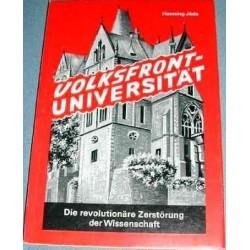 Volksfront-Universität. Von Henning Jäde (1972).